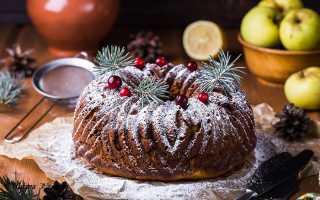 Вкусный рождественский кулич Паннетоне