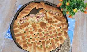 15 рецептов закрытых пирогов с капустой из дрожжевого теста