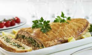 Виды теста для пирога с рыбой и рисом