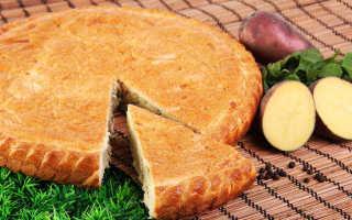 Варианты приготовления рыбного пирога с картофелем