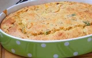 Рецепты быстрых пирогов из жидкого теста с капустой на кефире