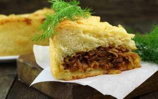 Вкусные пироги с квашеной капустой