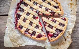 18 рецептов пирогов с вишней