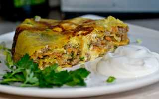 Быстрые и сытные пироги из лаваша с мясом