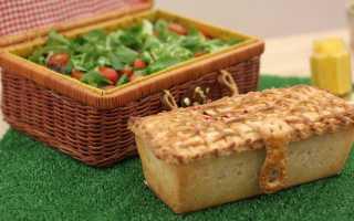 Пирог с капустой и мясом в домашних условиях