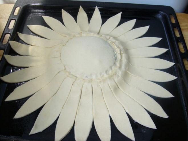 Вкусный пирог Солнышко