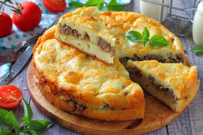 заливной пирог