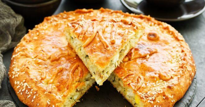 Пироги с начинкой из капусты