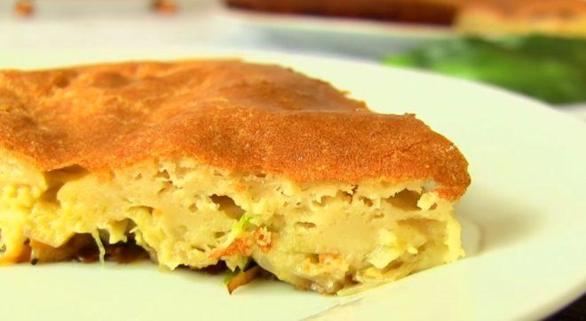 Пошаговый вкусный рецепт пирога из капусты