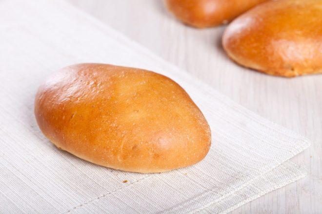 Пирожки с начинкой из капусты