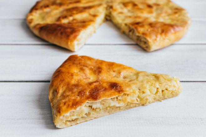 Быстрый пирог с капустой для ленивых