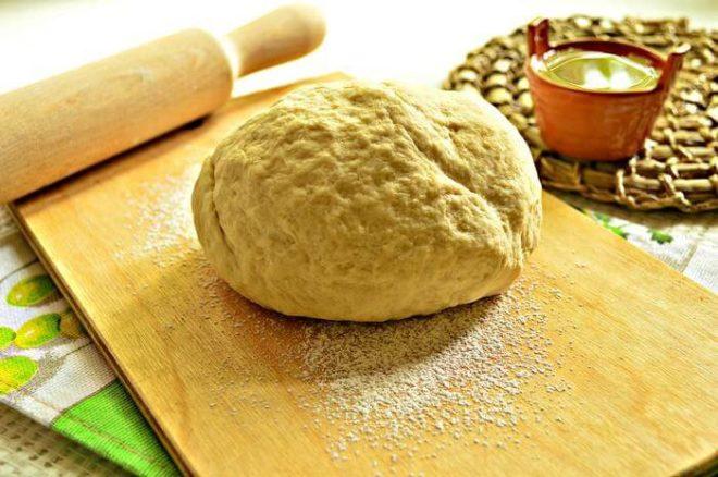 Песочное тесто для пирогов с капустой
