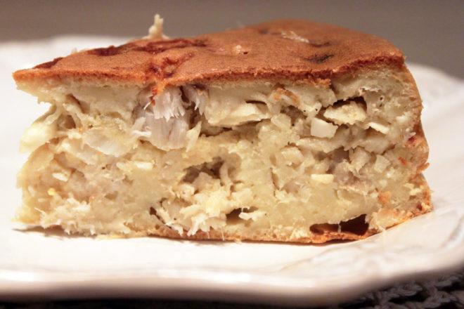 Рыба с рисом в пироги