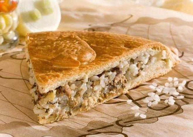 Ароматное тесто для рыбного пирога