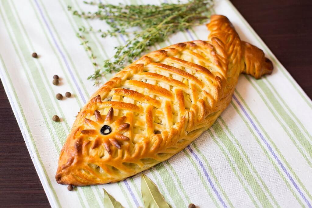 Пироги из рыбы фото