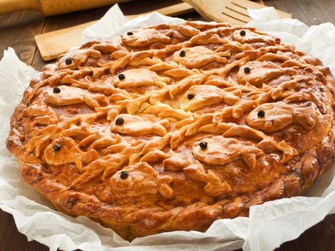 Вкусная рыбная начинка для пирогов