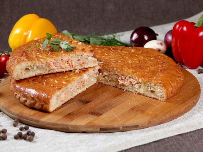 Классический рецепт пирога с рыбой и картошкой пошагово