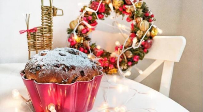 Фото-рецепт приготовления итальянского рождественского кулича Паннетоне