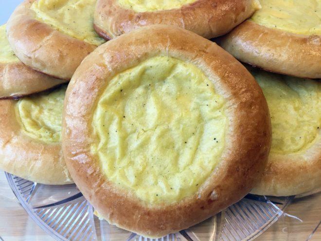 Картофельная ватрушка с фаршем