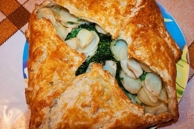 Рыбный пирог с картошкой «Сумка шкипера»